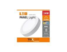 Podhľadové LED svietidlo TRIXLINE – prisadené 24W teplá biela