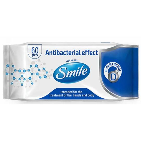 Antibakteriálne utierky Panthenol 60 ks