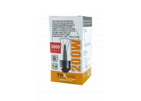 Speciální žárovka Trixline 200W, E27 teplá bílá