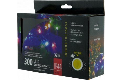 Vianočná LED reťaz TR 348 multicolor