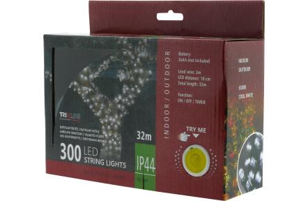 Vánoční LED řetěz TR 344 denní bílá