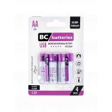 USB Nabíjecí AA tužková baterie BC batteries 1,2V