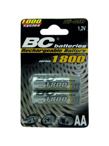 do pOnOwnegO naładowania 1,2V ołówek bateria BCR6/1800/2BP