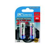 Nabíjecí 1,2V tužková baterie BCR6/3000/2BP
