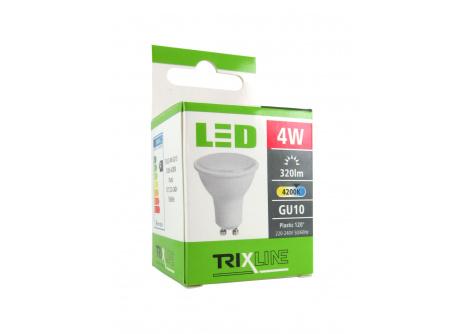 LED žárovka Trixline 4W GU10 studená bílá