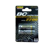 do pOnOwnegO naładowania 1,2V ołówek bateria BCR6/2200/2BP