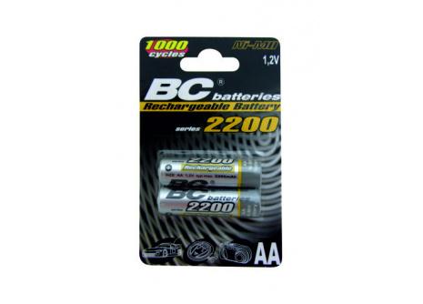 Nabíjecí tužková AA baterie BC Batteries  1,2V R6