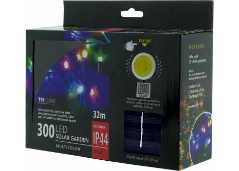 Solární vánoční LED řetěz TR 349 multicolor