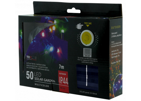 Solární vánoční LED řetěz TR 313 multicolor