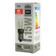Speciální žárovka Trixline T25, 15W E14 300°C