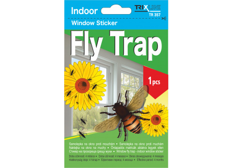 Samolepka na okno Fly Trap TRIXLINE TR 357