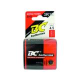 Zinkochloridová 4,5V plochá baterie BC 3R12/1P