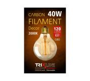 Dekorační stmívatelná žárovka Trixline 40W E27 (G80-SC17)