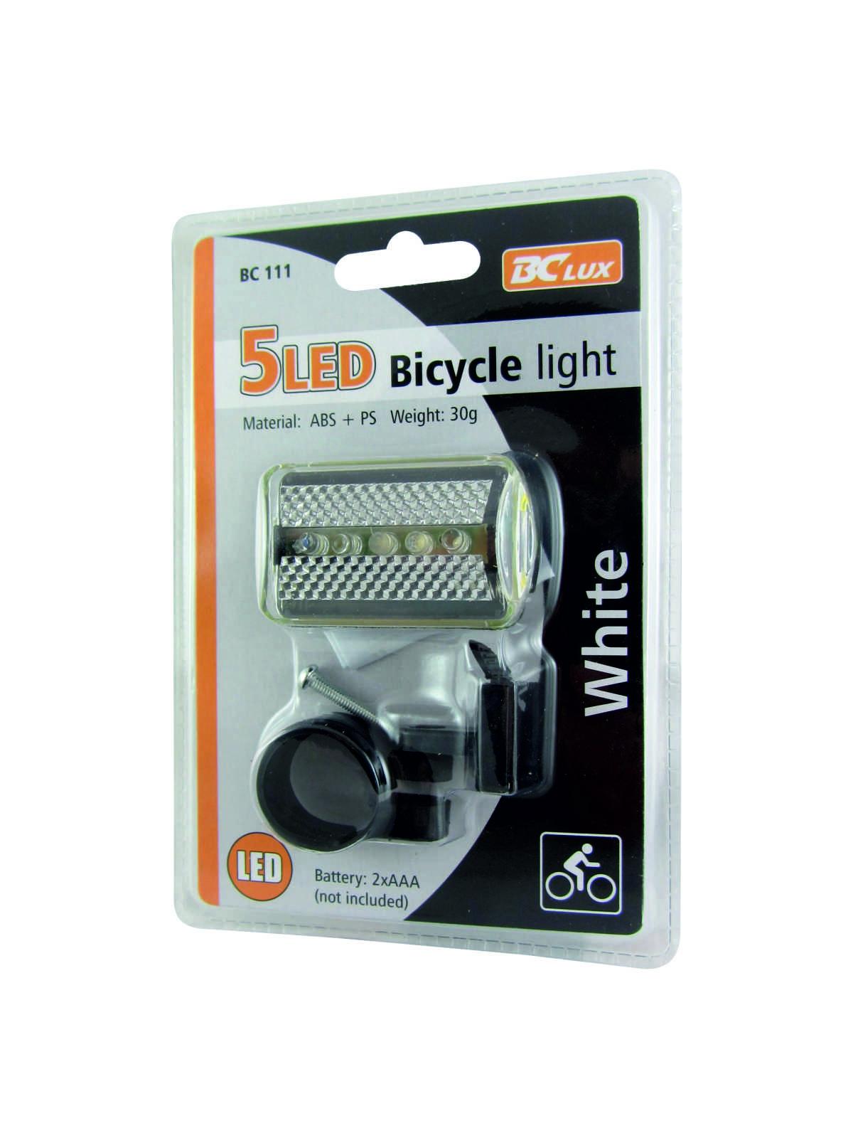 Svítilna na kolo zadní LED BC 111