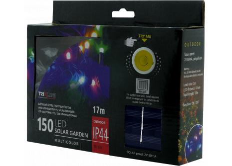 Solární vánoční LED řetěz TR 333 multicolor