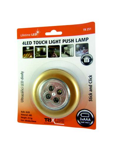 LED noční dotykové světlo TR 241, zlaté