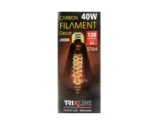 Dekorační stmívatelná žárovka Trixline 40W E27 (ST64-S24)