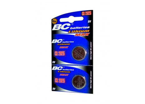 Lithiová knoflíková 3V baterie BC batteries CR2025