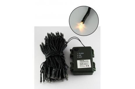 Vánoční LED řetěz trixline teplá bílá