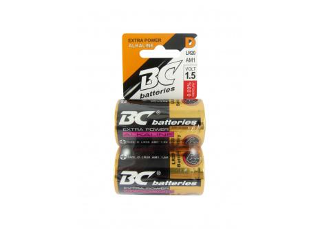 BC batteries alkalická baterie 1,5V LR20