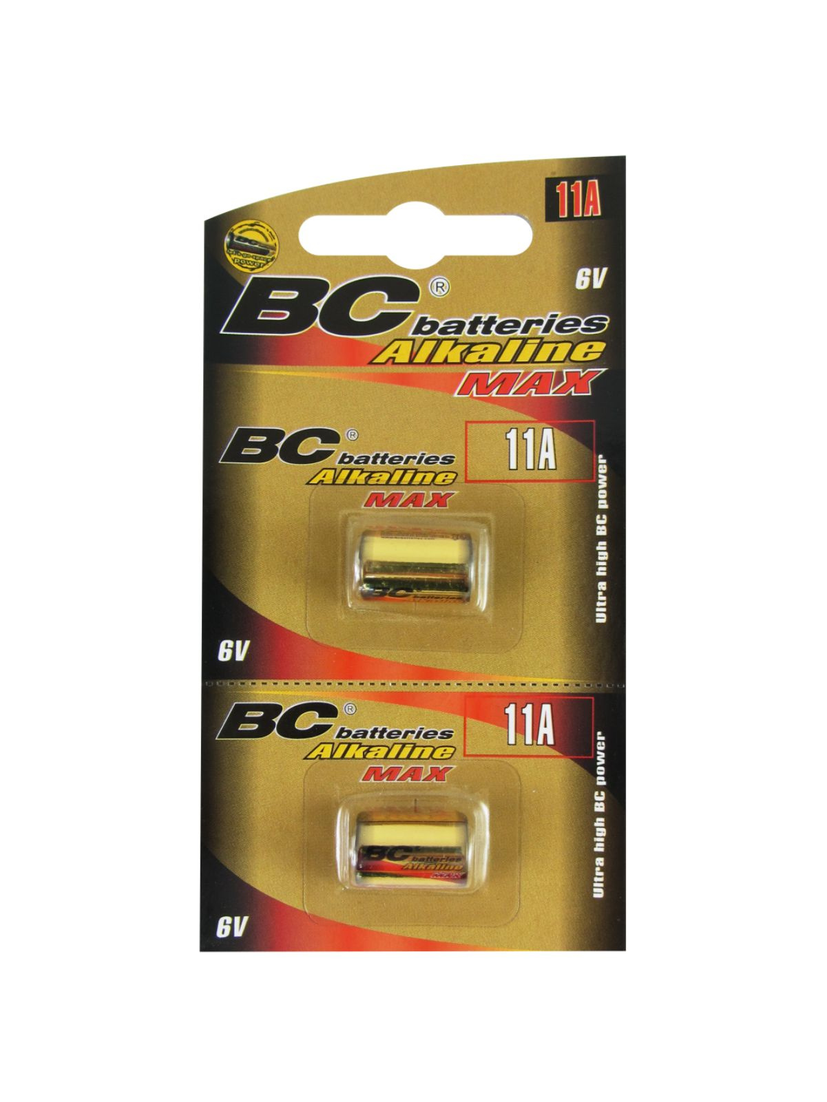 Alkaline 6V cylinder battery BCLR11/2BP