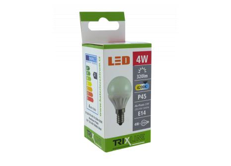LED žárovka BC TR 4W E14 P45 studená bílá