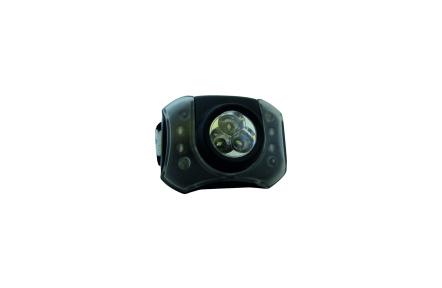 BC 3 LED + 4 LED čelová svítilna