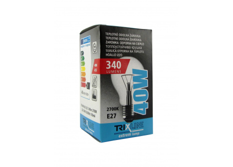 Speciální žárovka Trixline 40W, E27 teplá bílá