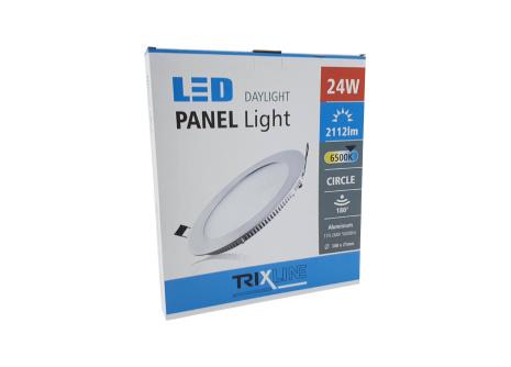 Podhledové LED svítidlo TRIXLINE – kulaté 24W