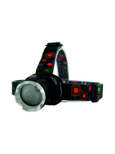 Nabíjecí LED čelová svítilna TR C217 3W COB