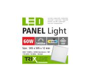 mennyezeti LED panel TRIXLINE - 60W hideg fehér