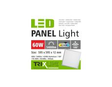 Podhledový LED panel TRIXLINE - 60W studená bílá