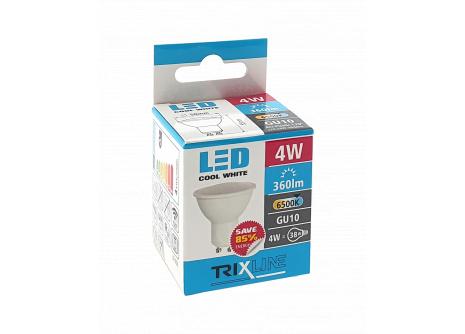 LED žárovka Trixline 4W GU10 denní bílá