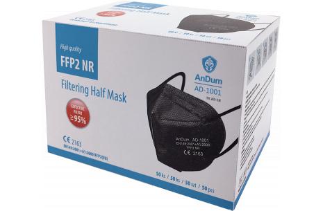 Respirátor FFP2 AD-1001 černá