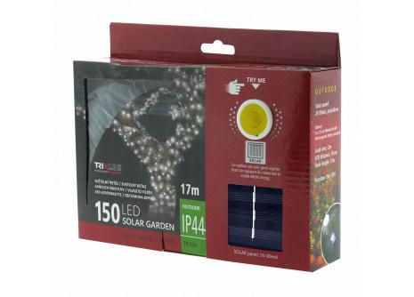 Solární vánoční LED řetěz TR 334 denní bílá