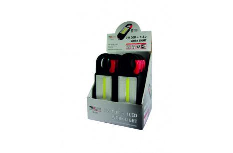 LED svítilna s karabinou TR C219 3W COB + 1