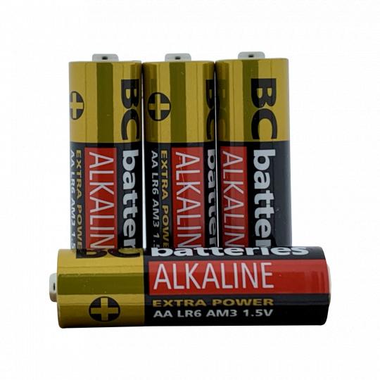 Alkalická tužková 1,5V baterie BC Extra power LR6/20P